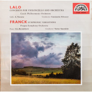 Édouard Lalo - The Czech Philharmonic Orchestra - Concerto For Violoncello And Orchestra / Symphonic Variations