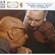 Isaac Stern, Columbia Symphony Orchestra, Igor Stravinsky  - Stravinsky - Violin Concerto in D / Symphony in Three Movements