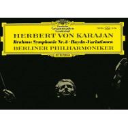 Brahms, Herbert von Karajan, Berlin Philharmonic – Symphony No. 3 • Haydn Variations