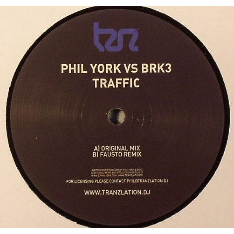 Phil York vs BRK3 ‎– Traffic