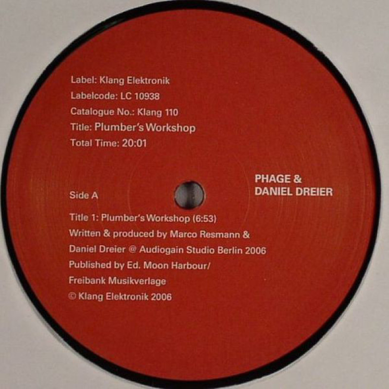 Phage & Daniel Dreier ‎– Plumber's Workshop