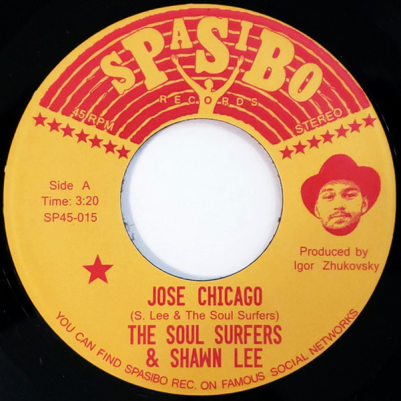 The Soul Surfers & Shawn Lee ‎– Jose Chicago / Four Track MInd