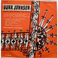 Bunk Johnson and his New Orleans jazz band - Bunk Johnson's Jazz Band