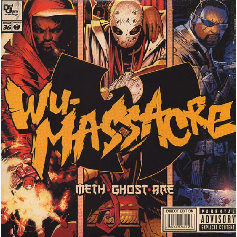 Meth • Ghost • Rae – Wu-Massacre