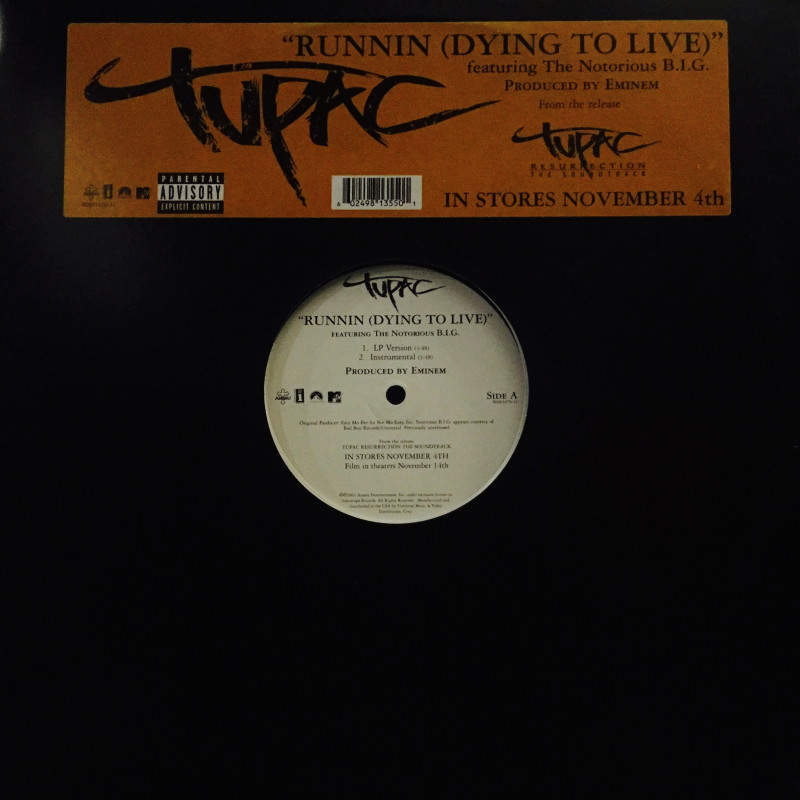 2pac - Runnin (Dying To Live)
