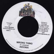 Aidonia / Bramma  - Wrong Thing / Badman Town