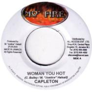 Capleton / Round Head - Woman you hot / Wrong