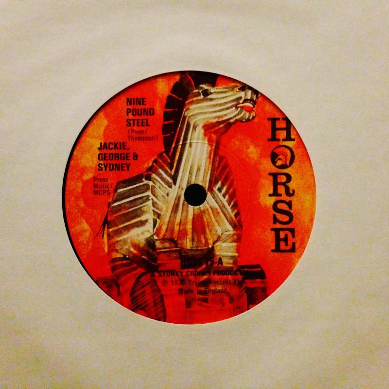 Jackie George & Sydney Nine pound steel / Money day - part 2