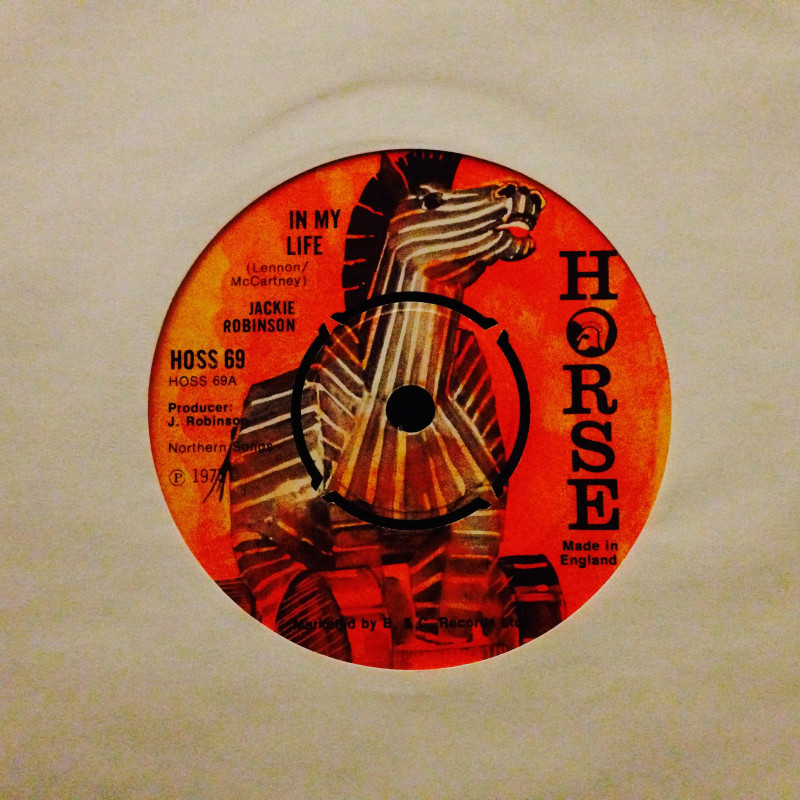 Jackie Robinson In my life / Instrumental