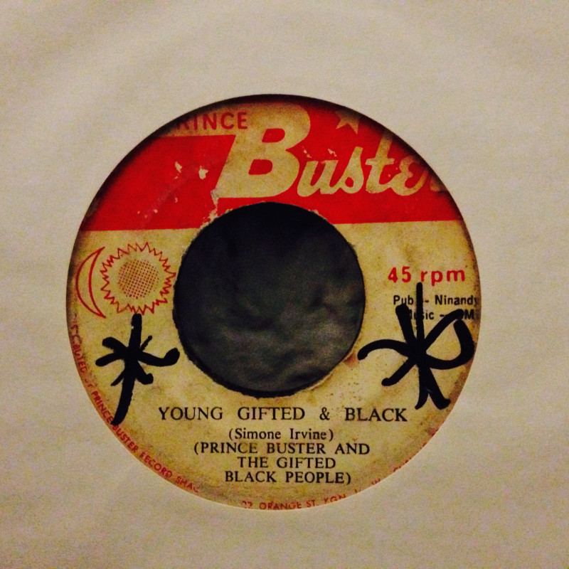 Prince Buster & The Gifted black people Young gifted & black / Blacker black