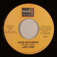 Lady Saw / Brick & Lace  - Your Boyfriend / Bad To The Bone